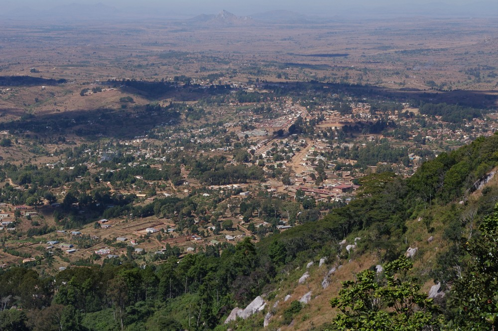 View of Dedza Township